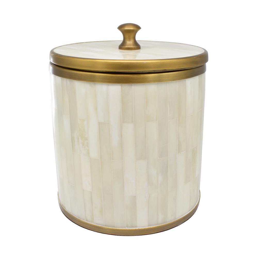 Worlds Away - Natural Bone Ice Bucket