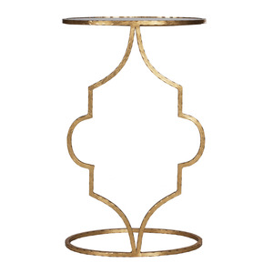 Thumbnail of Worlds Away - Hammered Gold Leaf Cigar Table