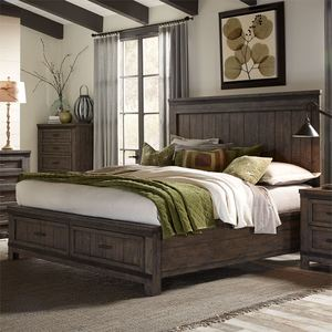 Thumbnail of Liberty Furniture - Thornwood Hills Storage Bed