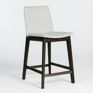 Thumbnail of Alder & Tweed Furniture - Clifton Counter Stool in Misted Silver and Moderna Brown