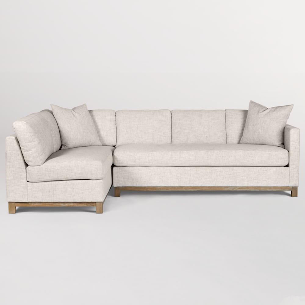 Alder & Tweed Furniture - Clayton Sectional - Left Arm Facing