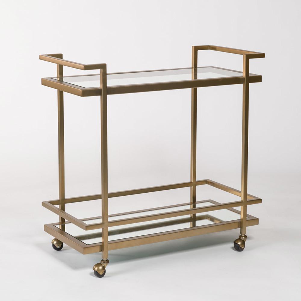 Alder & Tweed Furniture - Brentwood Bar Cart
