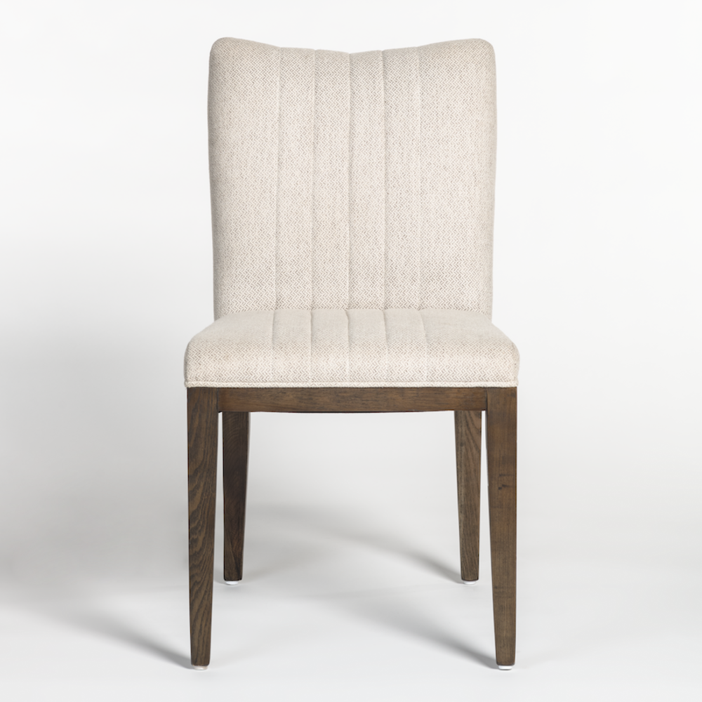 Alder & Tweed Furniture - Raymond Dining Chair in Frosted Lattice and Aged Oak