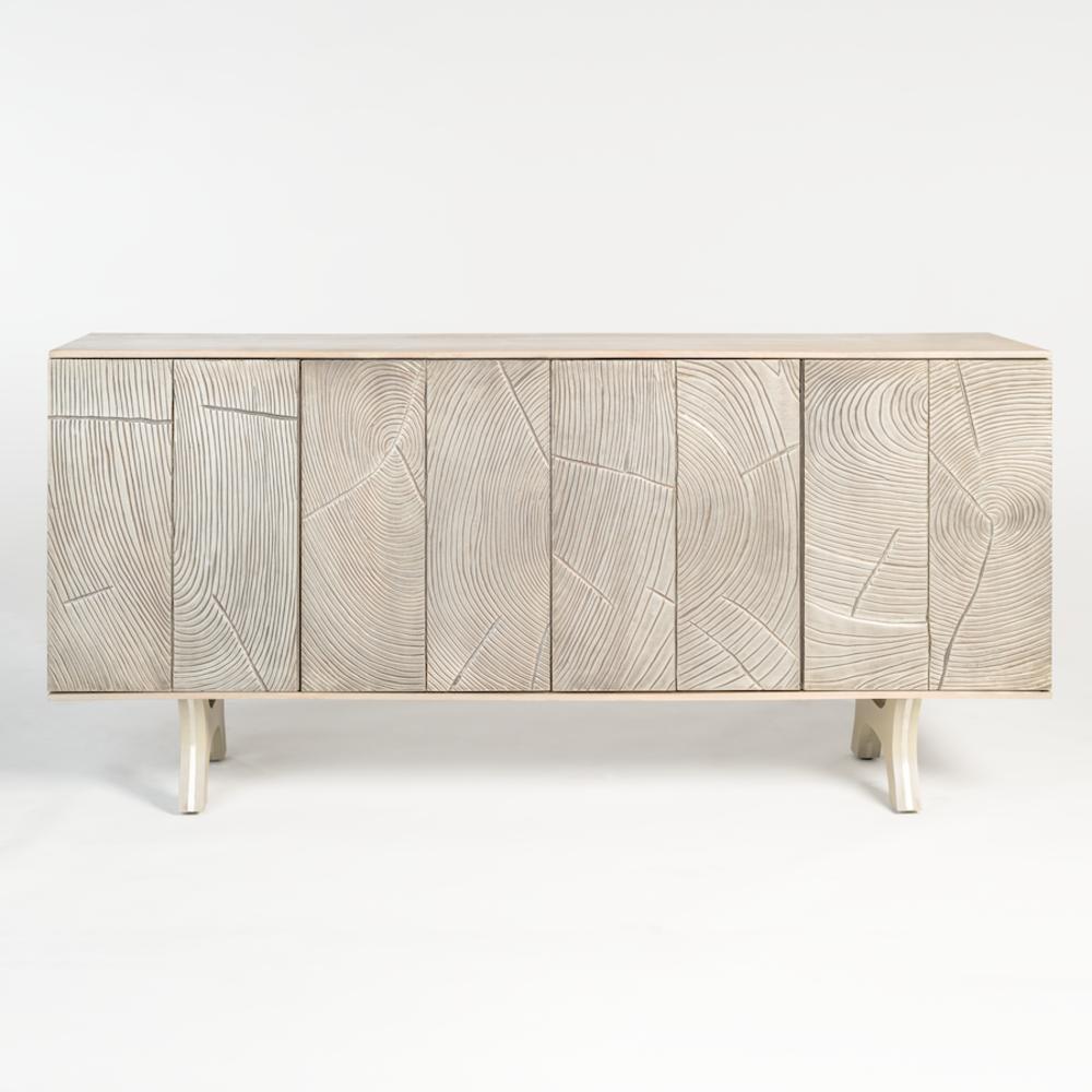 Alder & Tweed Furniture - Rowan Sidebaord in Provencial Dusk and Refined Pewter
