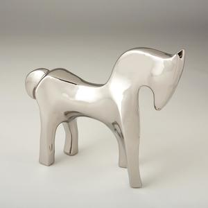 Thumbnail of Global Views - Horse, Bright Silver