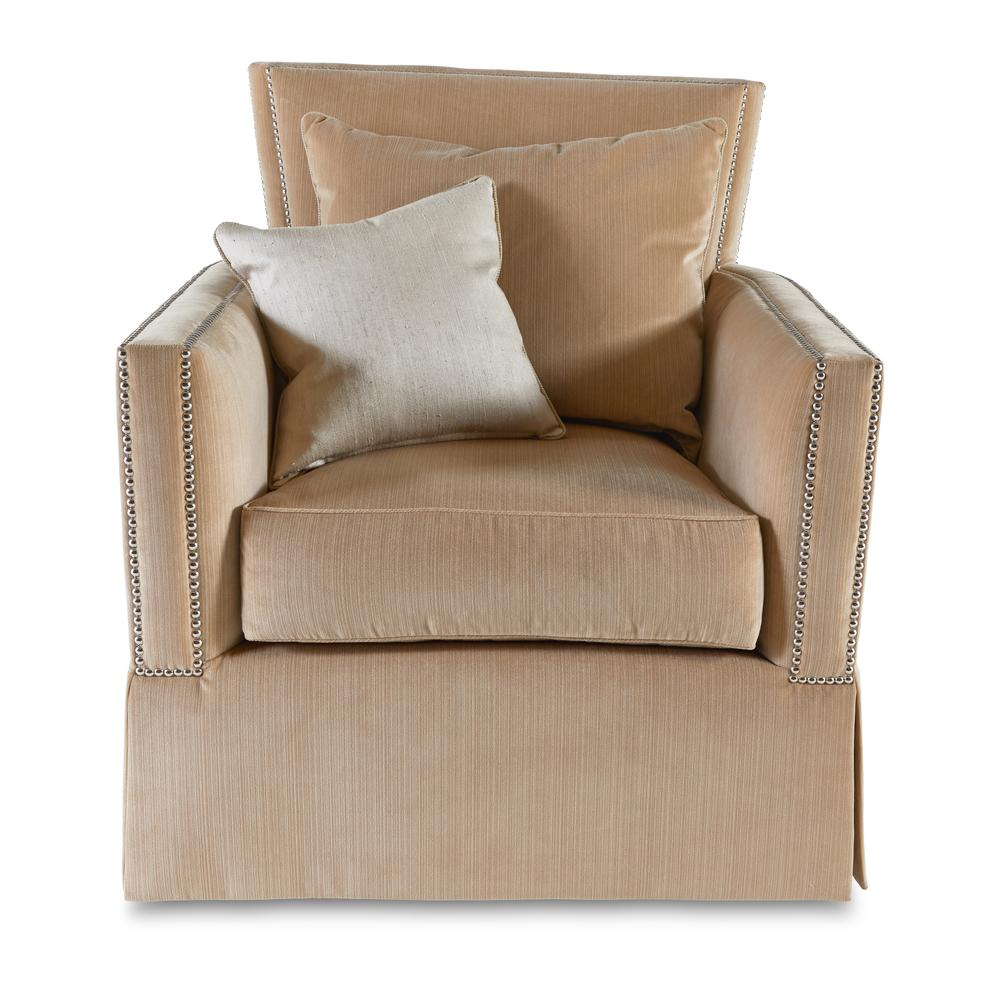 Marge Carson - Hannah Swivel Chair- Proximity