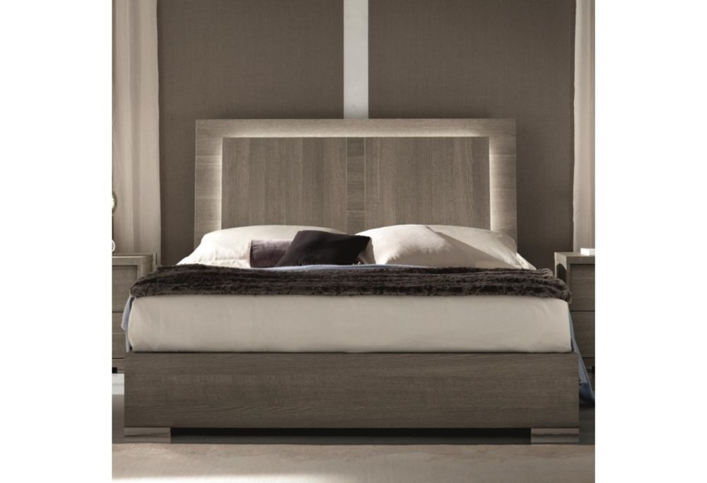 Alf Group - King Bed without Storage Drawer and with LED Light